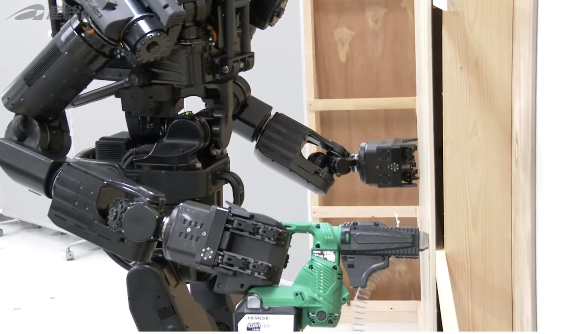 robot, perforación