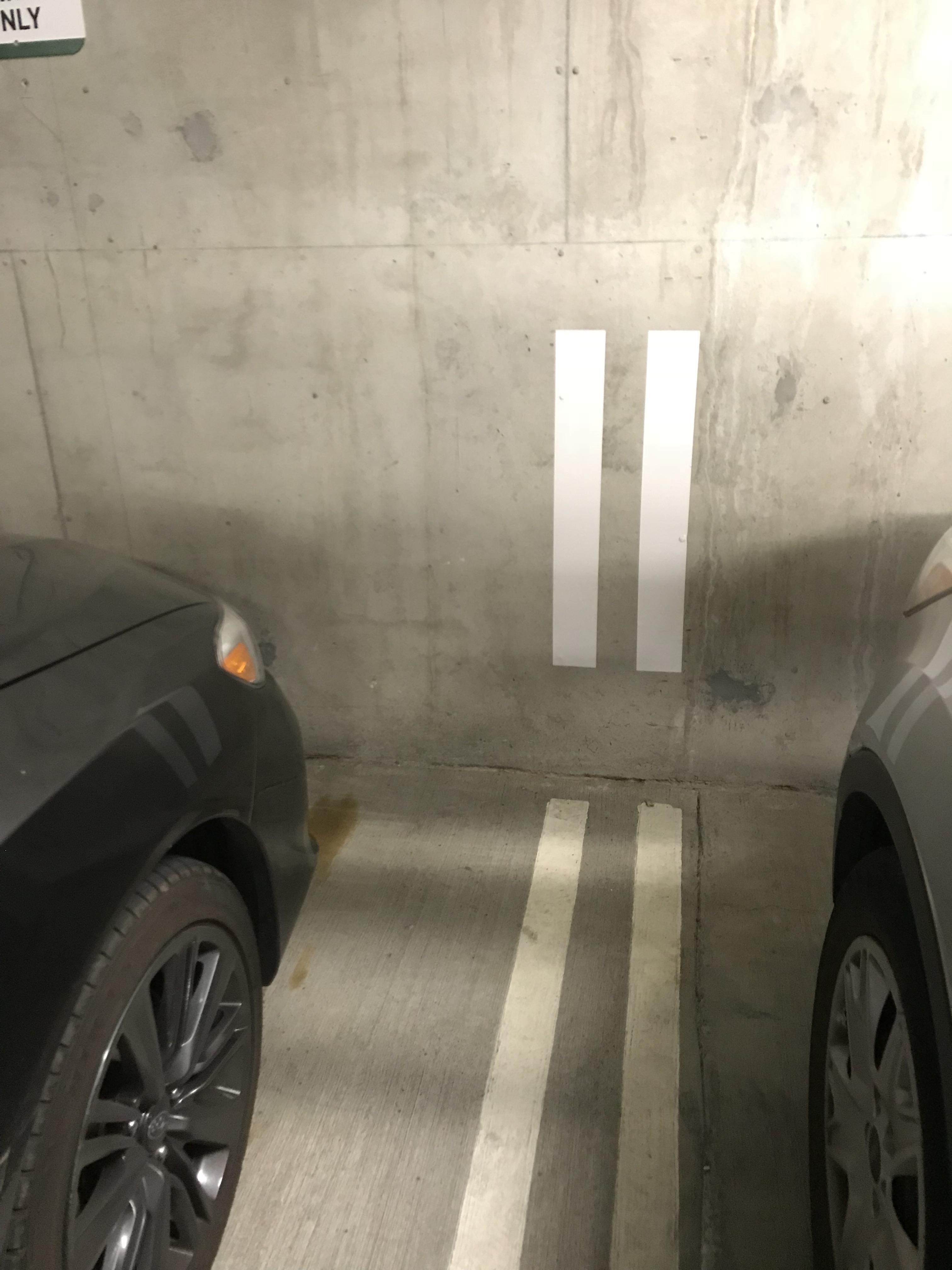 División en parking