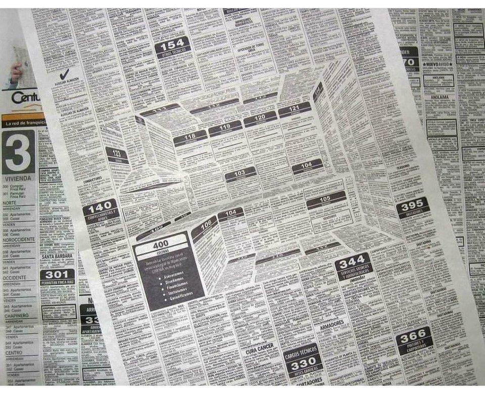 campaña, diario, publicidad