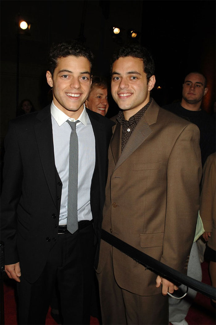 Rami Malek, hermano