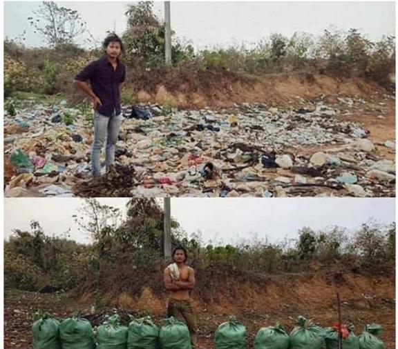 Nepal trashtag