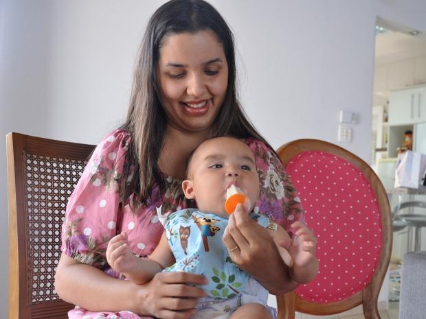 Helado con leche materna