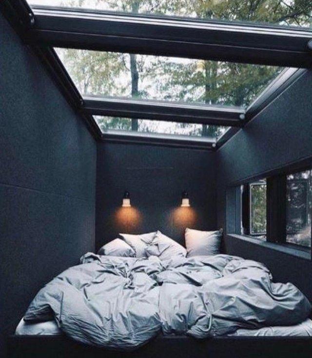 habitación, techo, solar