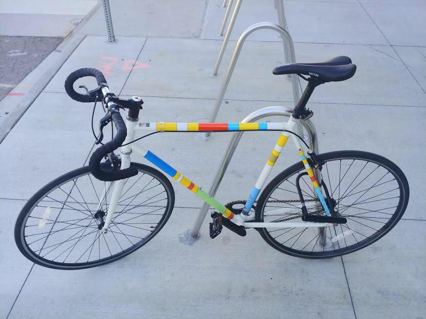 simpsons bike