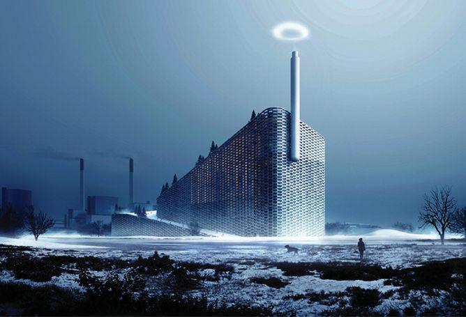 planta de energía danesa