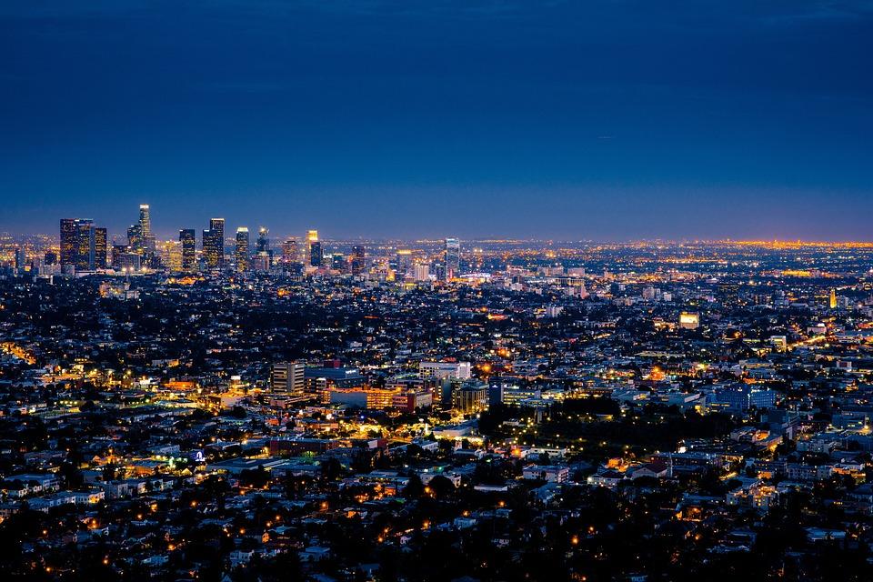 ciudad america california los angeles metropolis