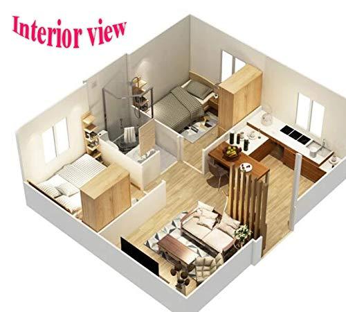 plano mini casa prefabricada
