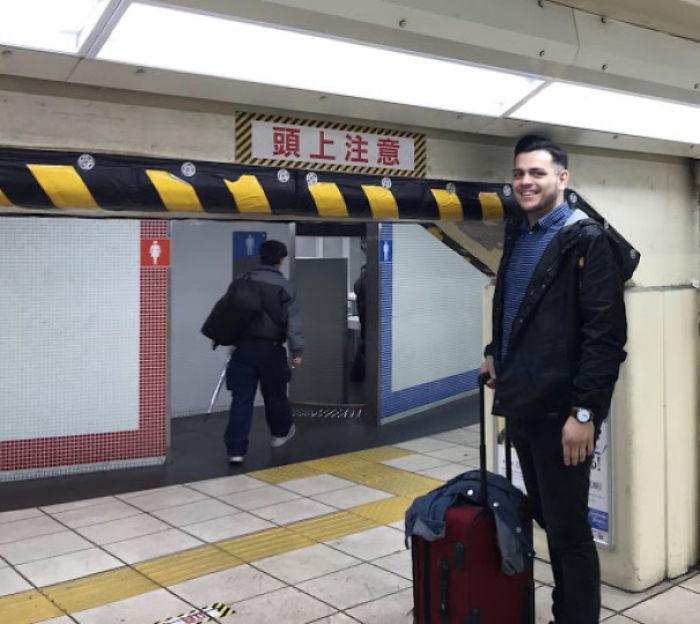 Japón no esta hecho para gente alta 17