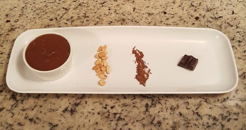 maní de chocolate