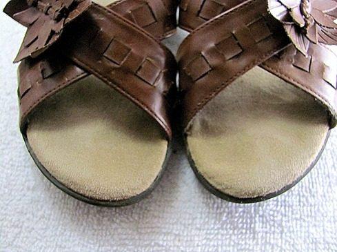 Sandalen-Schleifpapier