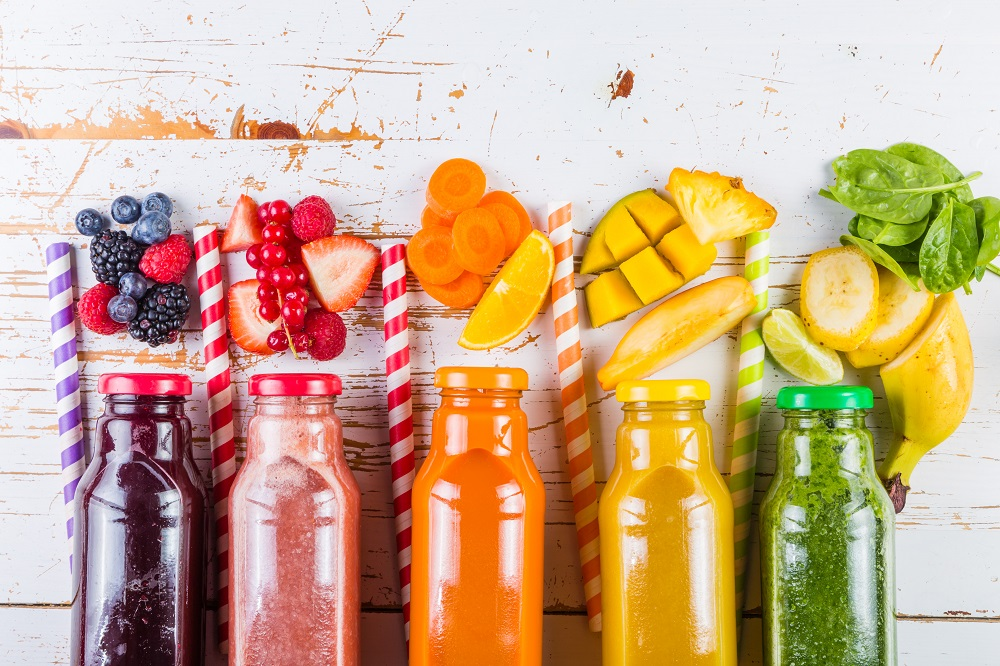 zumos naturales frutas fresco