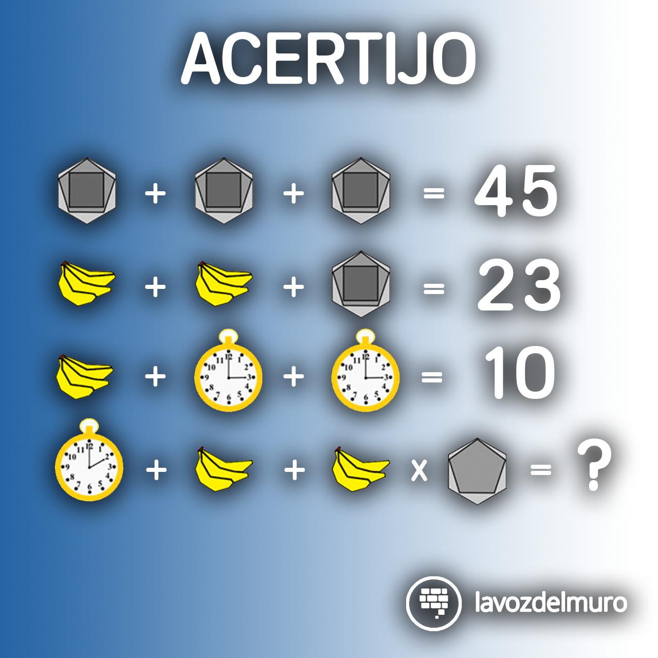 acertijo numérico