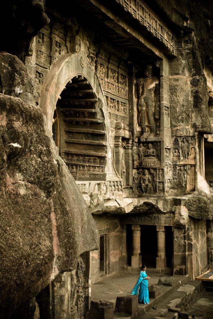 Ellora templo roca budista