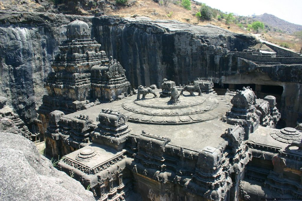 Ellora templo roca