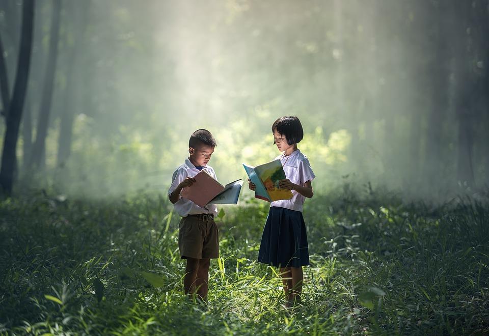 niños educación bosque naturaleza emociones empatía