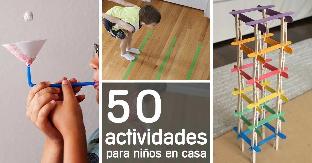 actividades-niños-casa