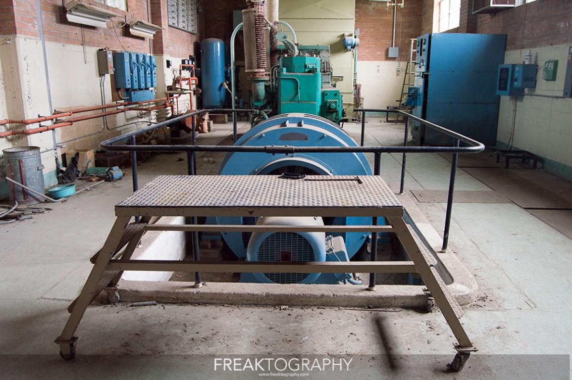 hospital abandonado maquinas