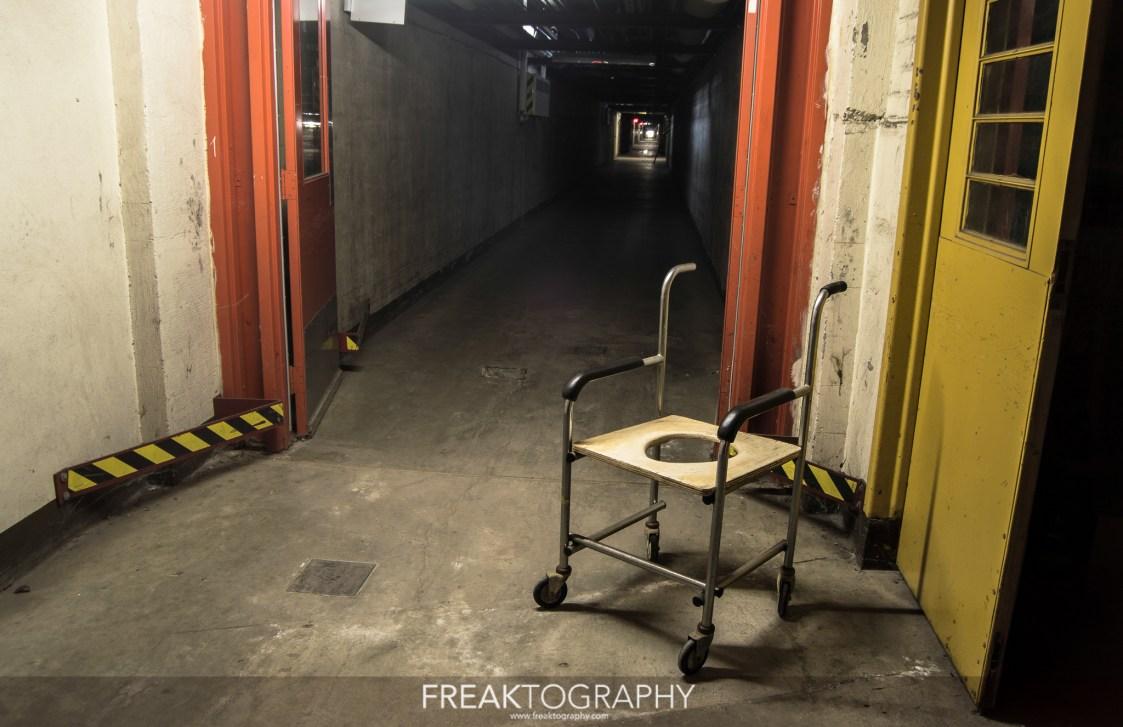 hospital abandonado miedo