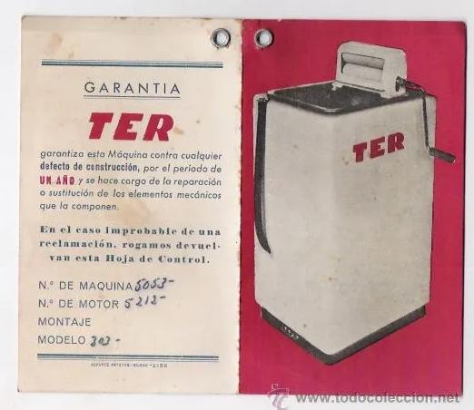 primeras lavadoras eléctricas