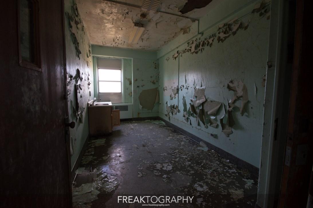 pabellones psiquiátrico abandonado