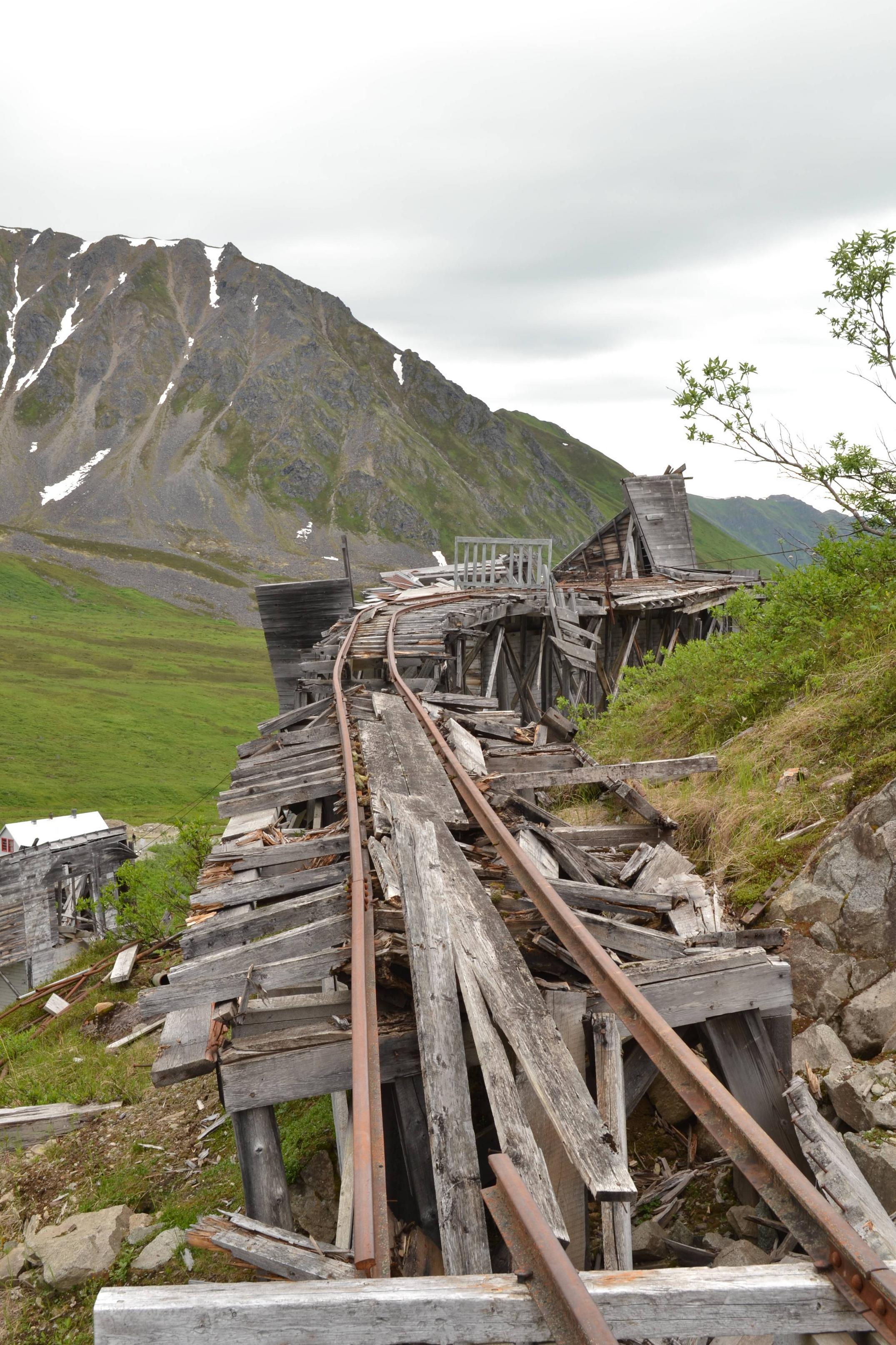 vías de trenes
