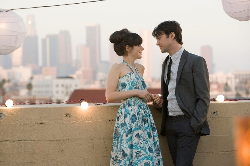 Joseph Gordon Lewitt y Zoey Deschanel, el ejemplo de que las parejas perfectas también se separan. (Marc Webb, 2009)