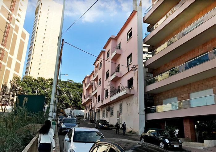 estrecho edificio Líbano Rencor