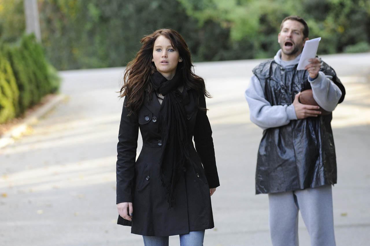 Bradley Cooper y Jennifer Lawrence saben más que nadie cómo se siente un corazón roto. (David O. Russell, 2012)