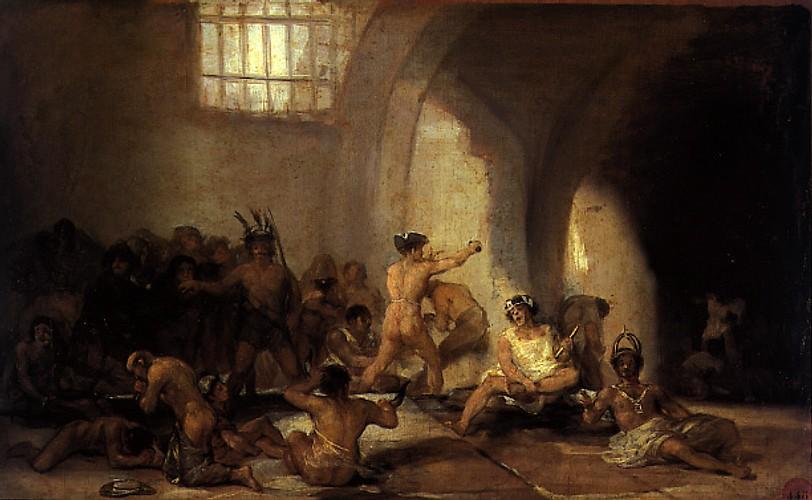 """""""Casa de locos"""", de Francisco de Goya. (Wikipedia)"""