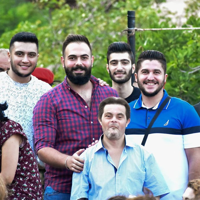 naturaleza foto grupal felicidad familia socialización