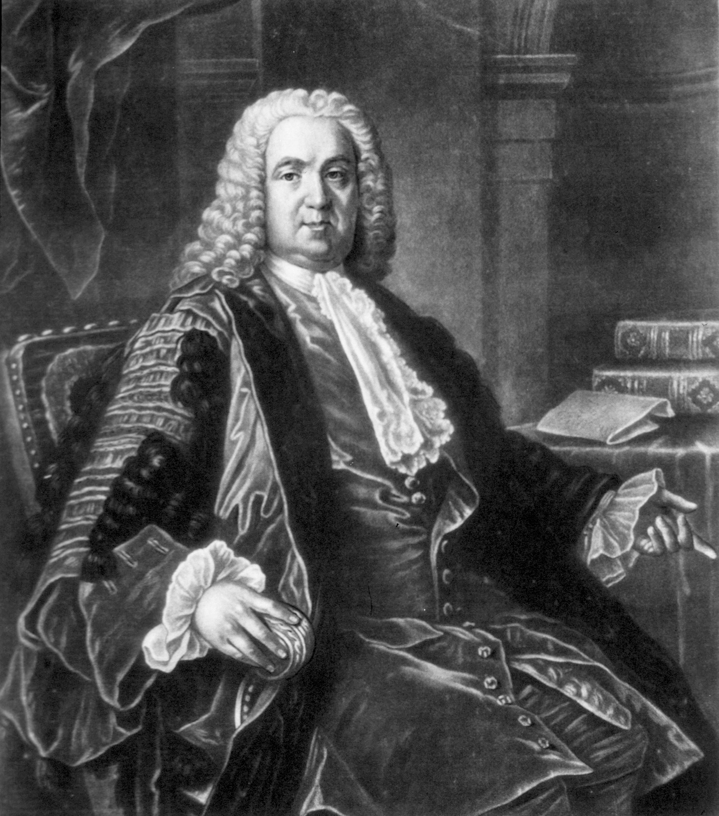 El médico británico Richard Mead. (Wikipedia)