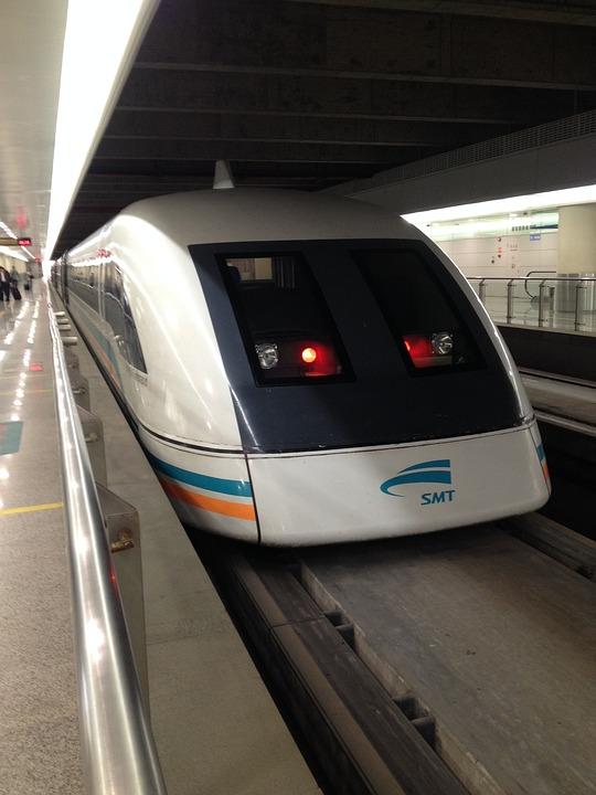 ferrocarril magnético prototipo