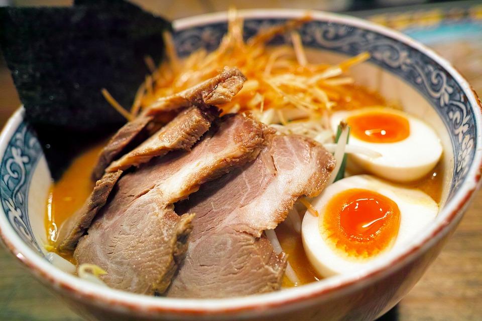 ramen comida sopa japonesa tradicional
