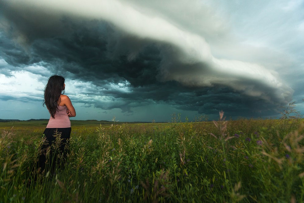 campo de tormenta