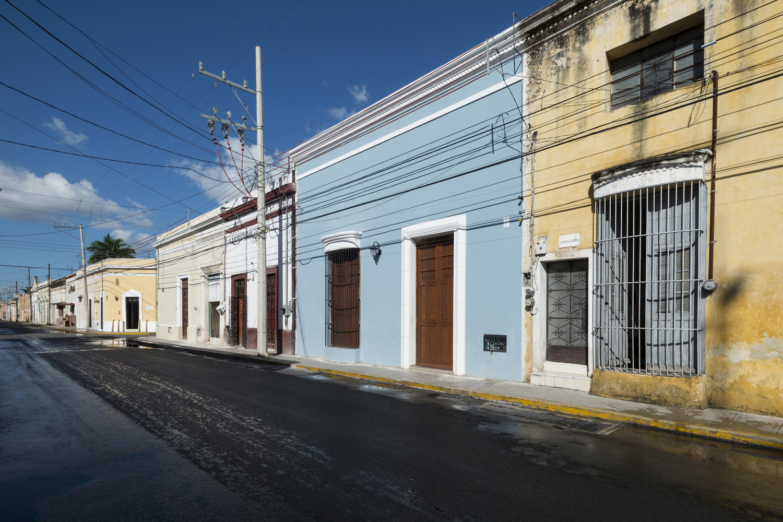 fachada casa colonial
