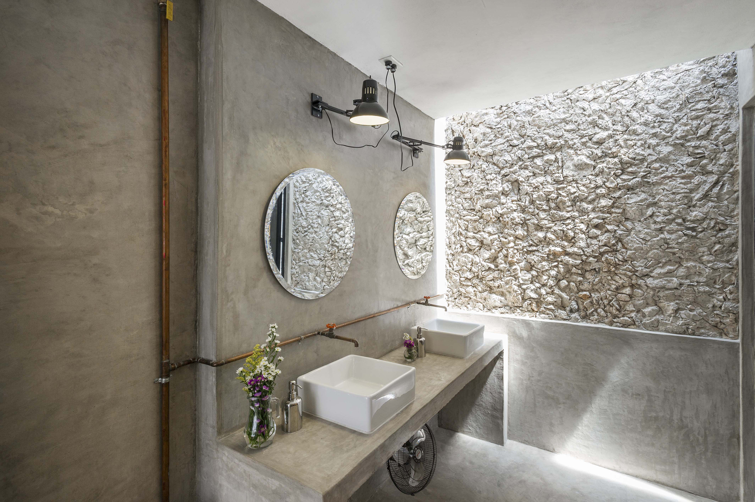baño reformado casa colonial