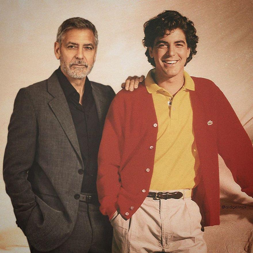 George Clooney famosos