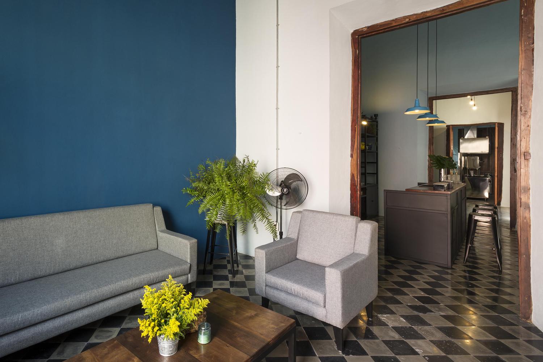 sala de estar casa colonial