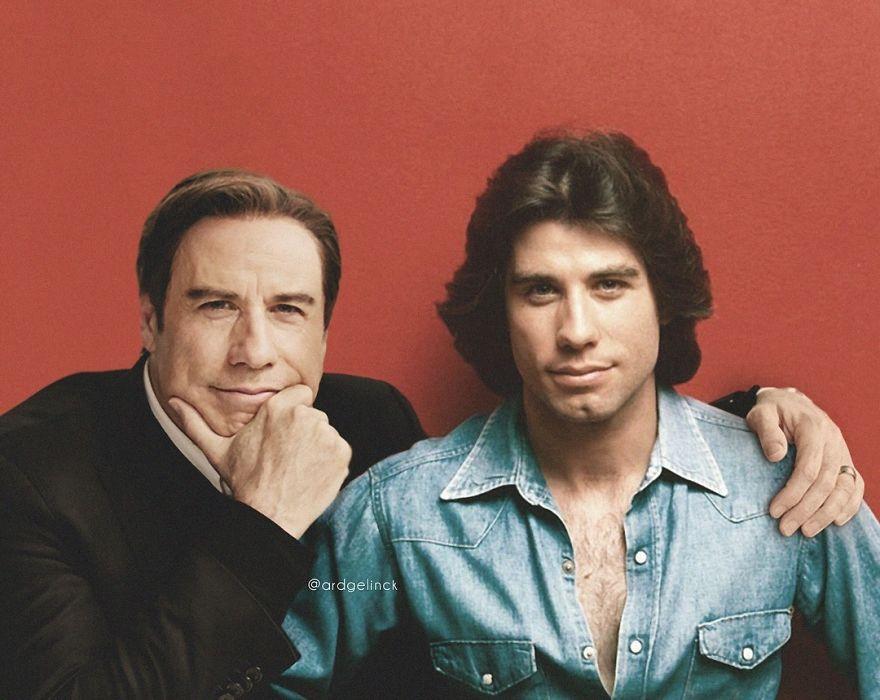 John Travolta famosos