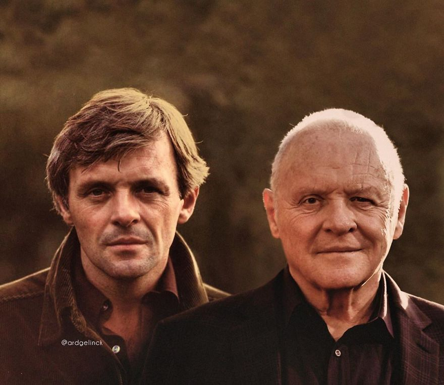 Anthony Hopkins famosos