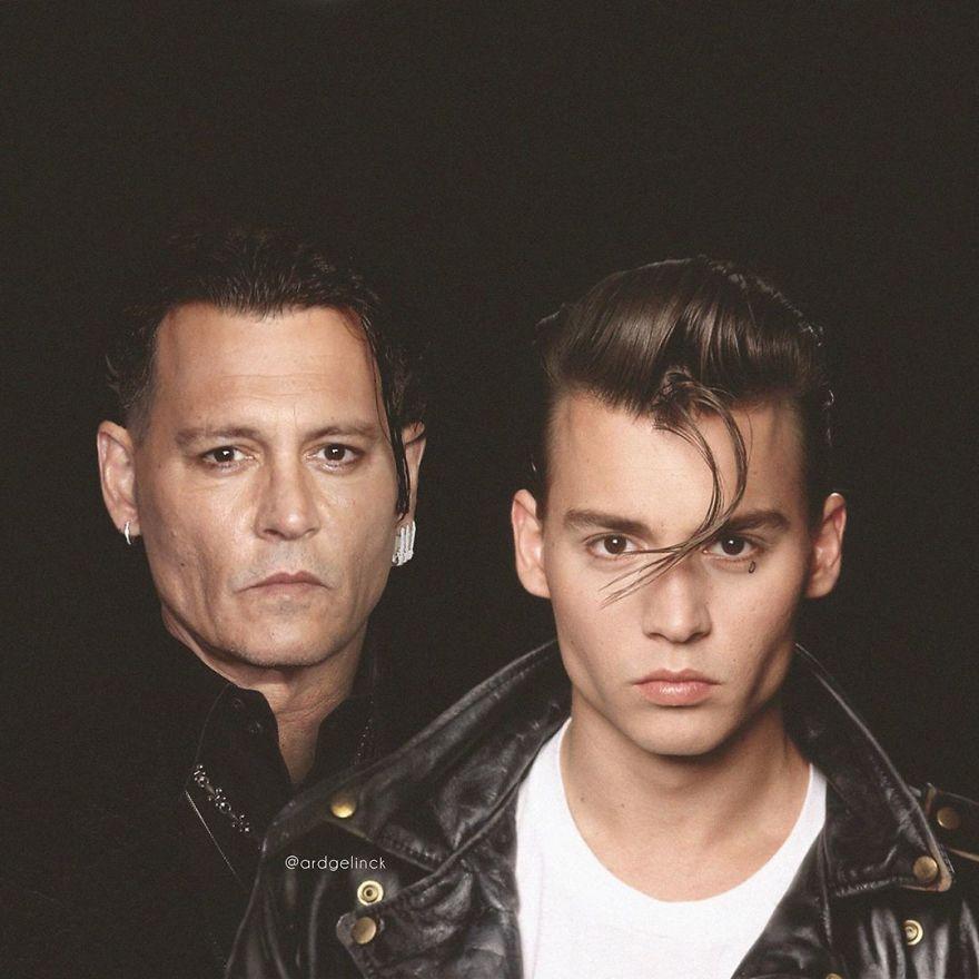 Johnny Depp famosos