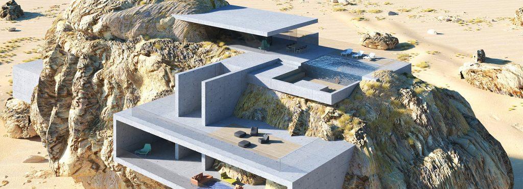 casa de la roca
