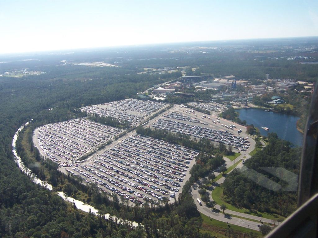 parking disney world