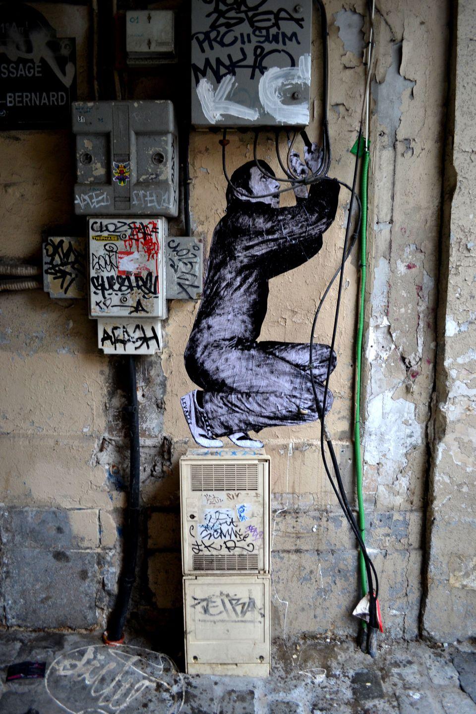 graffiti electricista