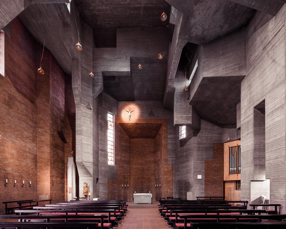 iglesia parece cuadro escher