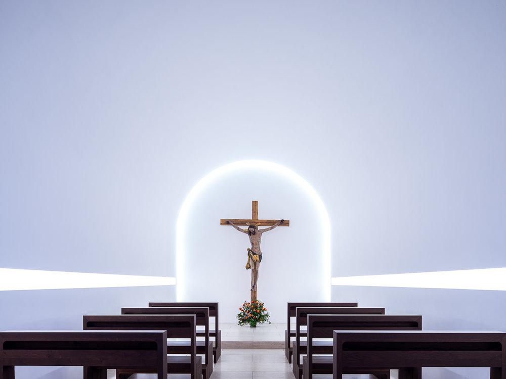 iglesia luz blanca