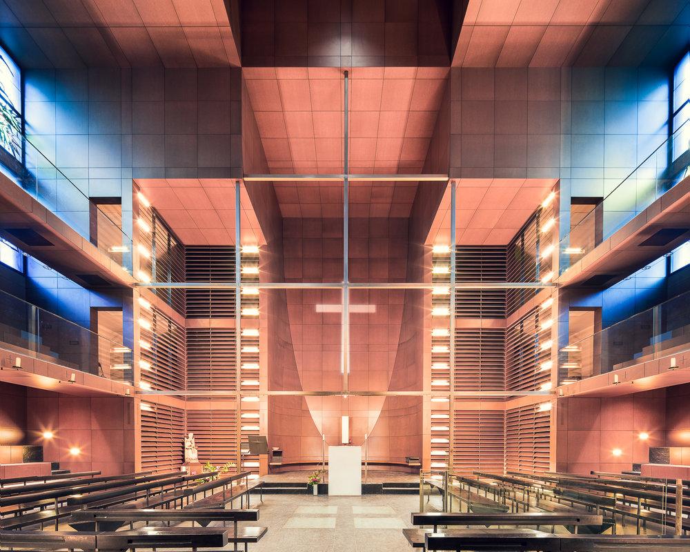 iglesia moderna parís