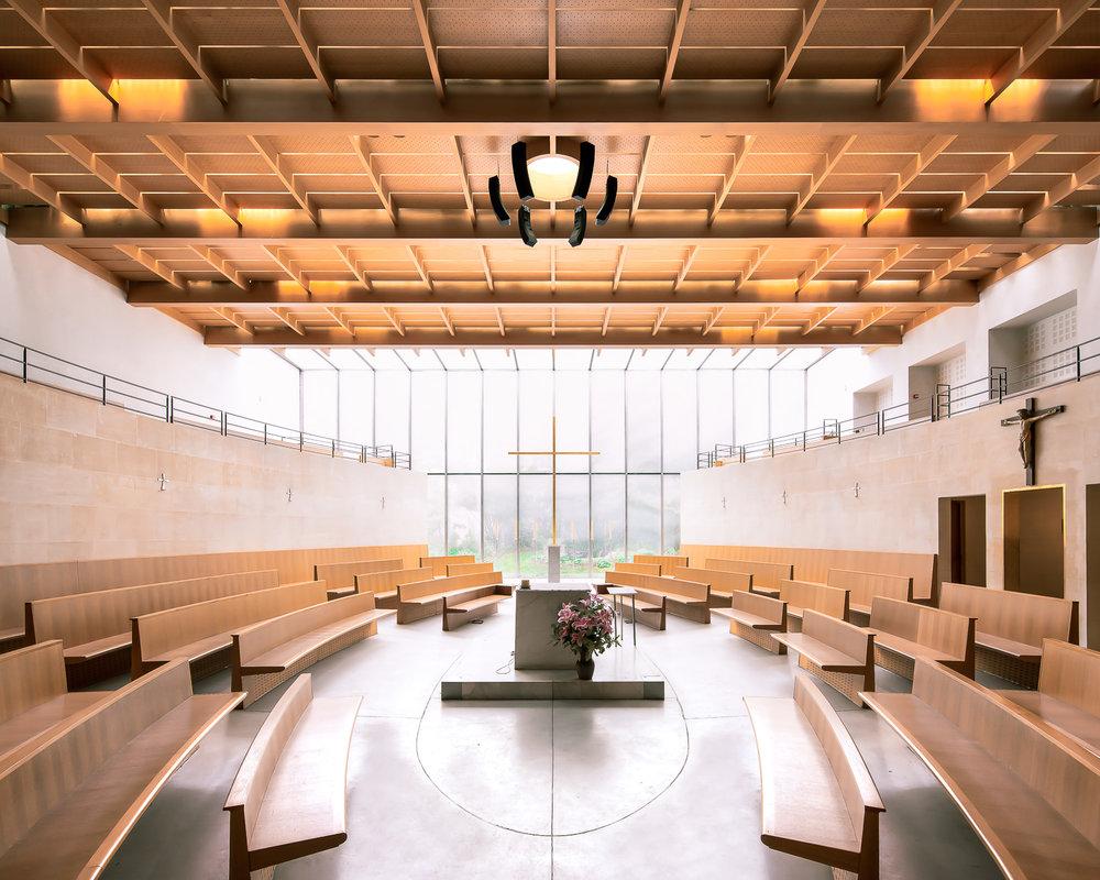 iglesia sala reuniones