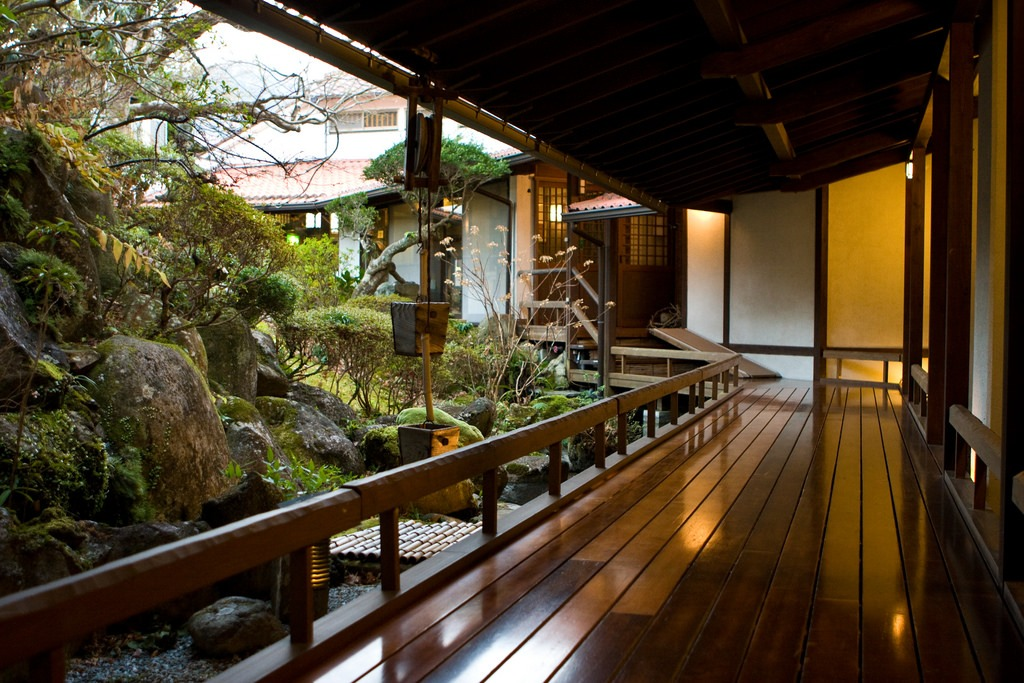 jardín japonés tradicional