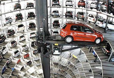 parking automático japón